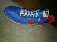 NIKE TAILWIND 79 Pacific Blue Team Orange  Size 10.5UK
