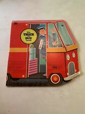 1976 The Truck And Bus Book by William Dugan Golden Press Softcover