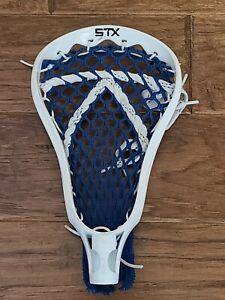 STX Lacrosse Head Strung -