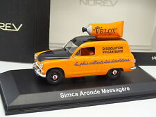 Norev 1/43 - Simca Aronde Messagère Velox