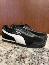 PUMA Roma Basic Sneaker Men's Size 10.5 Black/ White Unworn