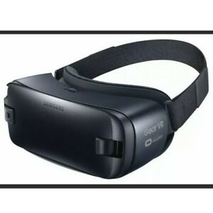 Samsung Gear VR Oculus Virtual Reality Headset SM-R323 Blue Black