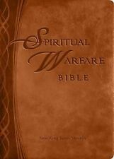 Spititual Warfare NKJV HOLY BIBLE New King James Version Brown Imitation Leather