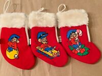 Disney McDonalds Fievel Mouse An American Tail 1986 Christmas Stocking Ornaments