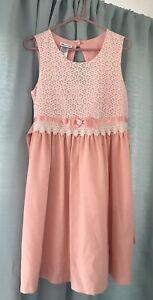 Pink Bonnie Jean Dress Size 20 1/2