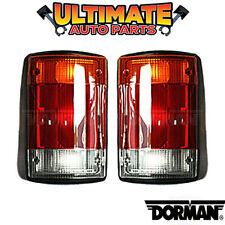 Tail Light Lamp (Left and Right) for 92-94 Ford Econoline E-150 E-250 E-350 Van