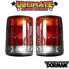 Tail Light Lamp Left & Right Set for 92-94 Ford Econoline E-150 E-250 E-350 Van