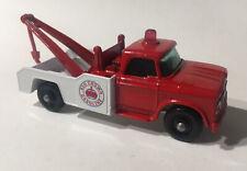 Matchbox Lesney Phantom #13 Custom Red Crown Gasoline Dodge Wreck Truck.