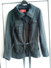 Damenjacke Damen Jacke Gr.S ( 36 ) Schwarz mit Knöpfen und Gürtel - EDC
