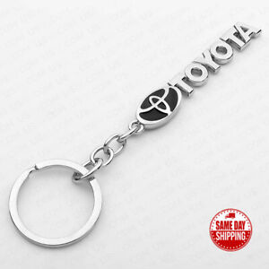 For Toyota 3D Logo Alloy Car SUV Home Key Keychain Ring Decoration Gift Sport