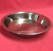 Stainless Steel Bowl Dish CAT KITTEN Dog Puppies Rabbit Hamster 6 Inch Rats