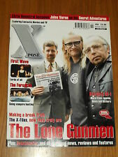 XPOSE #55 BRITISH MAGAZINE VISUAL IMAGINATION APRIL 2001 LONE GUNMEN FIRST WAVE