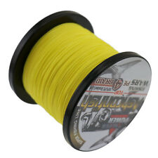 500M 90LB Dyneema Fishing Line Strong Braided 4 Strands Yellow Sea Fish Line