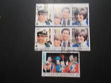 Guernsey 1981 Commemorative Stamps~Royal Wedding~Very Fine Used Set~UK Seller