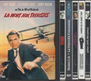 Alfred Hitchcock Lot 7 Dvd Mort Aux Trousses Psychose Rebecca Fenêtre sur Cour