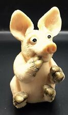 Piggin Petrified Pig Figurine Collectible Vintage 1993 David Corbridge Flambro