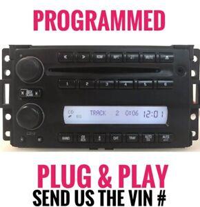 UNLOCKED  08-09 Chevrolet Uplander Radio AM FM CD Player w Aux  15878234 GM779