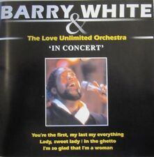 BARRY WHITE & THE LOVE UNLIMITED ORCHESTRA - IN CONCERT - CD