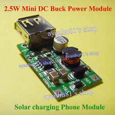 MC34063 DC-DC 5-24V Step Down to 5V 500mA USB Solar Panel Charging Phone Module