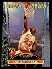 1992 Topps Stadium Club Members Only Beam Team Michael Jordan #1 NM-MT HOF Bulls