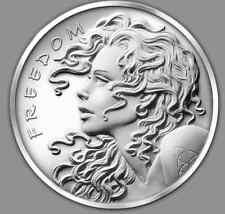 2016 1 oz FREEDOM GIRL BU SALE Silver Shield SBSS SSG 777 Round
