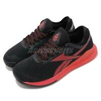 Reebok Nano 9 Black Red Men CrossFit Cross Training Shoes Sneakers FU6828