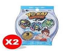 NEW Yo-Kai Watch Blind Bag X2 bags (Each Bag Contains 3 YoKai Medals)