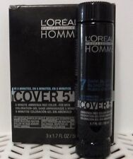 3 LOREAL HOMME Cover 5 For Men #7 Dark Blonde 1.7 oz ea NIB 163