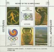 Timbres Sports JO Guyana 1769FA/FC ** lot 21039