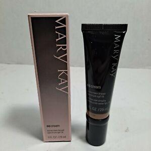 Mary Kay CC Cream Sunscreen Broad Spectrum spf 15  Deep NIB
