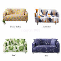 Dustproof Protector Couch Slipcover 1/2/3/4 Seater Sofa Covers Living Room Decor