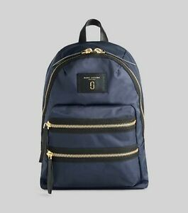 NWT Marc Jacobs The Biker Nylon Backpack ~ Midnight Blue ~ M0012700