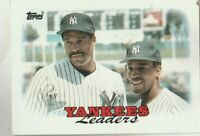 FREE SHIPPING-1988 Topps New York Yankees #459 Dave Winfield/Willie Randolph