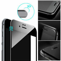 Carbon Fiber 10D Full Tempered Glass Screen Protector Cover For iPhone 7 iPhone8