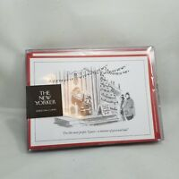 The New Yorker Magazine Greeting Cards 8 count Holiday Cards & Envelopes