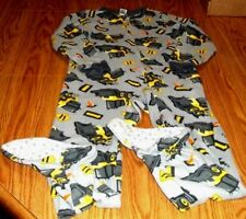 Excellent Jumping Beans Boys Sz 8 Polyester Flame Resistant Sleeper Pajamas