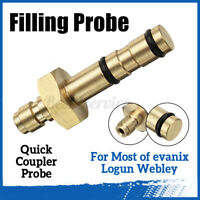 PCP Filling Probe Quick Coupler Adapter Golden For Evanix Webley FX Hatsan US