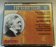 Tannhauser (The Radio Years): Wagner (S.I.A.E, 1995) (cd6447)