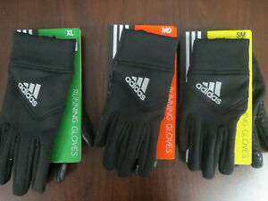 Adidas Cold Ready Running Gloves Size S, M, XL ~NEW~