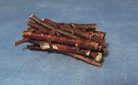 1:12 Scale Small Bundle Of Fire Wood Kindling Logs Tumdee Dolls House Garden
