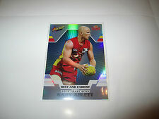 GOLD COAST SUNS GARY ABLETT 2012 AFL SELECT CHAMPIONS BEST & AND FAIREST CARD