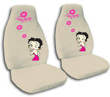 SPECIAL SET Betty boop design CAR SEAT COVERS 9 COLORS