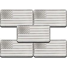 American Flag 10oz .999 Silver Bar 5pc