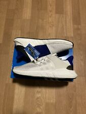 Adidas EQT Support 93/17 White Blue Boost Shoes BZ0592 MENS Size 10.5 / 11.5