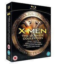 X MEN Complete Collection Bluray Movie Part 1 2 3 4 5 1ST CLASS ORIGINS WOLVERIN