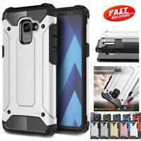 Samsung Galaxy A8 18/A6 18/A5 18 Case Heavy Duty Shockproof Rugged Bumper Hybrid
