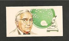 Sir ALEXANDER FLEMING Penicillium notatum PENICILLIN original 1969 print card
