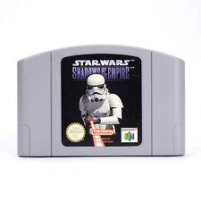 Star Wars Shadows Of The Empire (PAL/Europe) Nintendo 64 n64 Cart