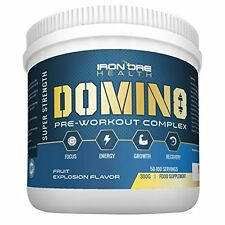 DOMIN8 - Premium Pre-Workout Concentrate - Up to 100 Servings