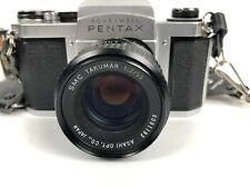 Honeywell Pentax 35mm H1a Camera SMC Takumar 1:2/55 Ashi Lens Opt. Co. Japan